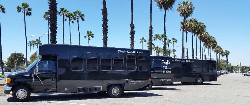 Party Buses In Los Angeles