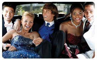 Winter Formal Party Bus