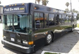 Large Party Bus Orange County CA